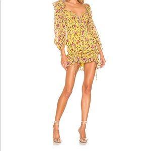 Floral mini dress similar to For Love and Lemon
